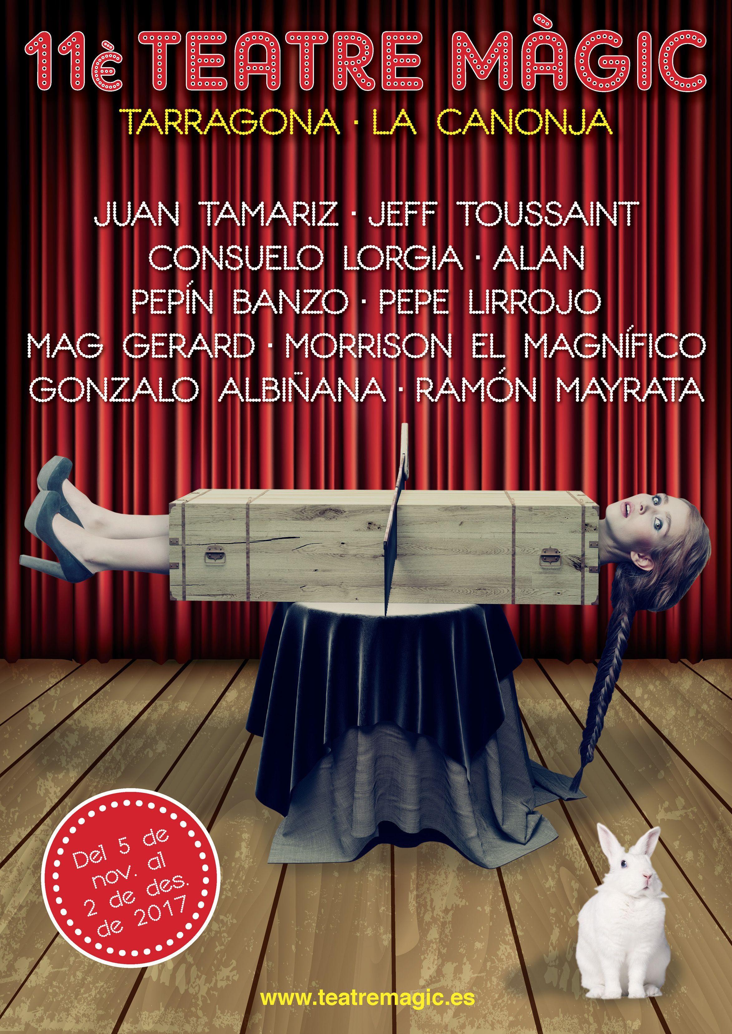 Teatre magic 2015: Festival de Màgia a Tarragona amb Anthony Blake, Mad Martin